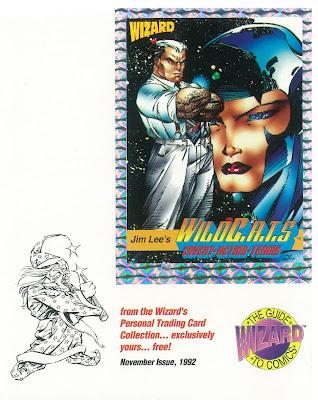 Bart Sears Wizard Mascot - Wildcats Card