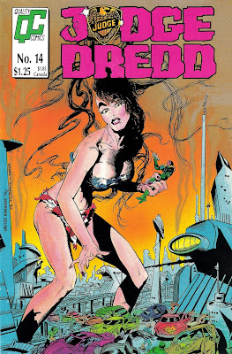 Bart Sears Judge Dredd #14 cover