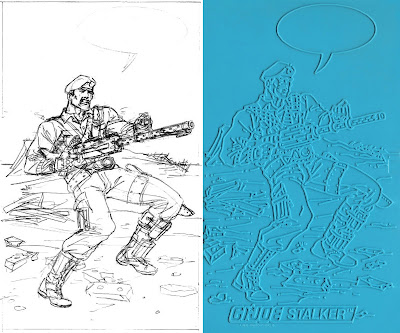 Bart Sears GI Joe Trace Plate - Stalker