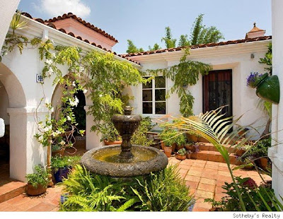 Debi mazar 39 s digs up for sale celebrity digs hq for Spanish style home for sale
