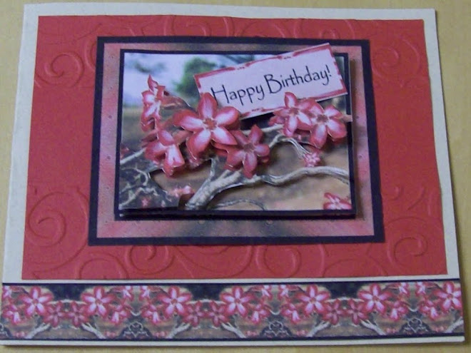 3D card - Happy Birthday