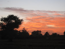 Sunset Outside My House in Mali