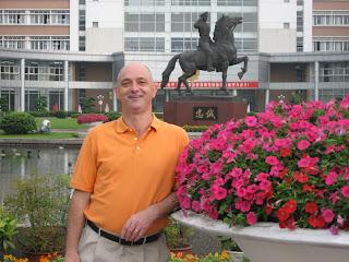 Dr. Jurg Gerber in China 2007