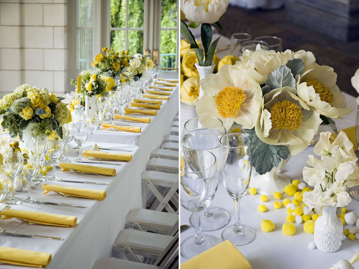 Yellow Wedding Centerpieces Ideas Decor | Wedding-