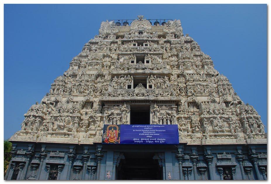 Ashtadasabhuja Durga Darshana - 04. Kamakshi Amman Temple, Kancheepuram