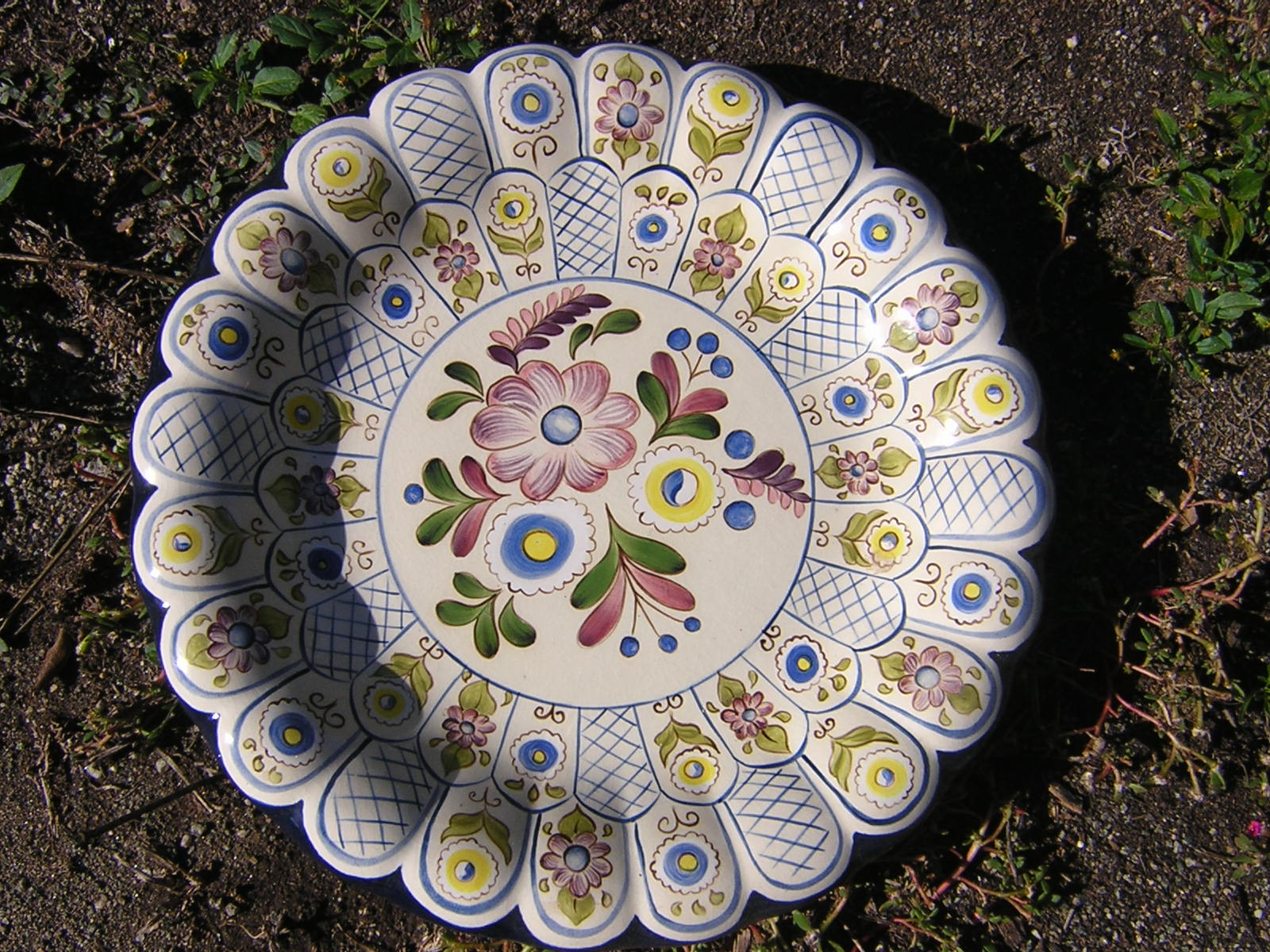 Mis pinturas on line platos de cer mica - Platos de ceramica ...