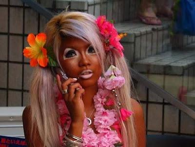 Gaga amiga, quanto tempo voce ficou pra pegar esse bronzeado?