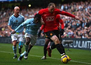 Manchester united vs. Manchester city Betting Odds
