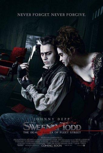 Sweeney Todd Poster. (Sweeney Todd