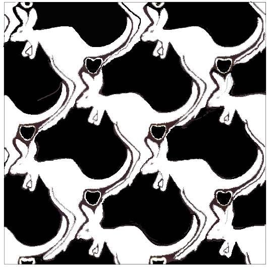Kangaroo-&-Australia Tessellation