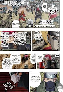 Naruto Mangá 423 (Colorido)