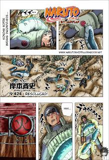 Naruto Mangá 424 (Colorido)