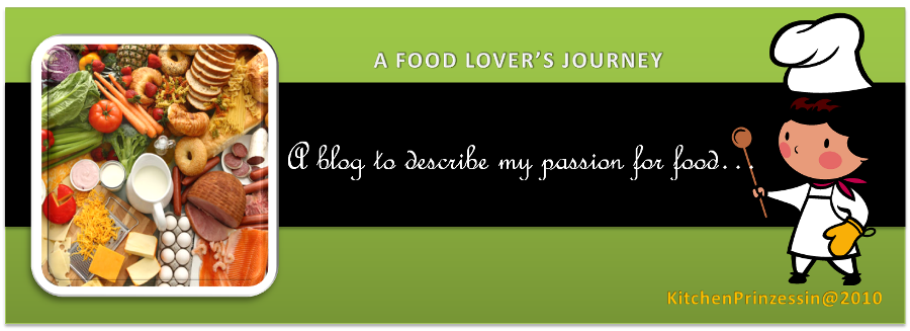 A Food Lover's Journey...