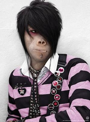 Monkey emo