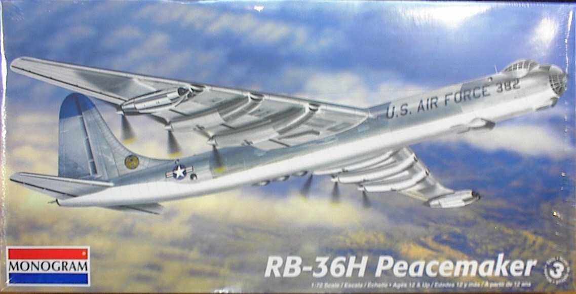 Galveston texas usaf convair b 36 rb 36h peacemaker bomber aircraft