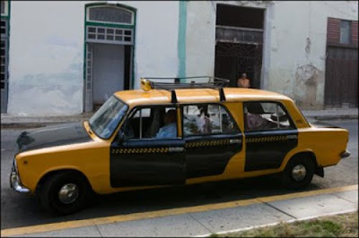 Unusual taxi around the world 12