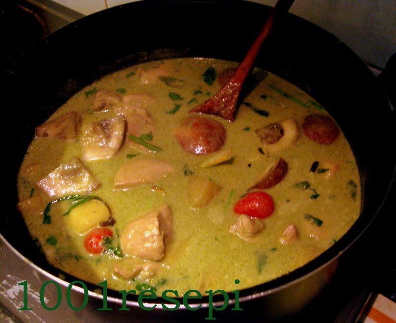 how to make a cheap thai green curry