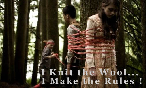 I knit the wool, I make the rules !