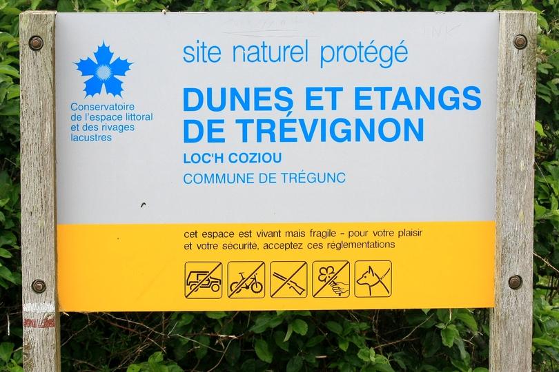 Dunes et étangs de Trévignon.