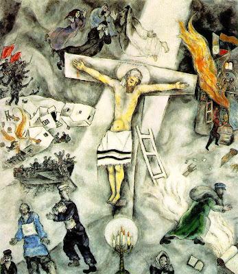 Για τα μάτια της Χουακίνα: April 2009 Chagall Crucifixion In Yellow