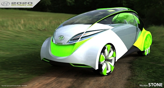 World: Cars of the future 2020