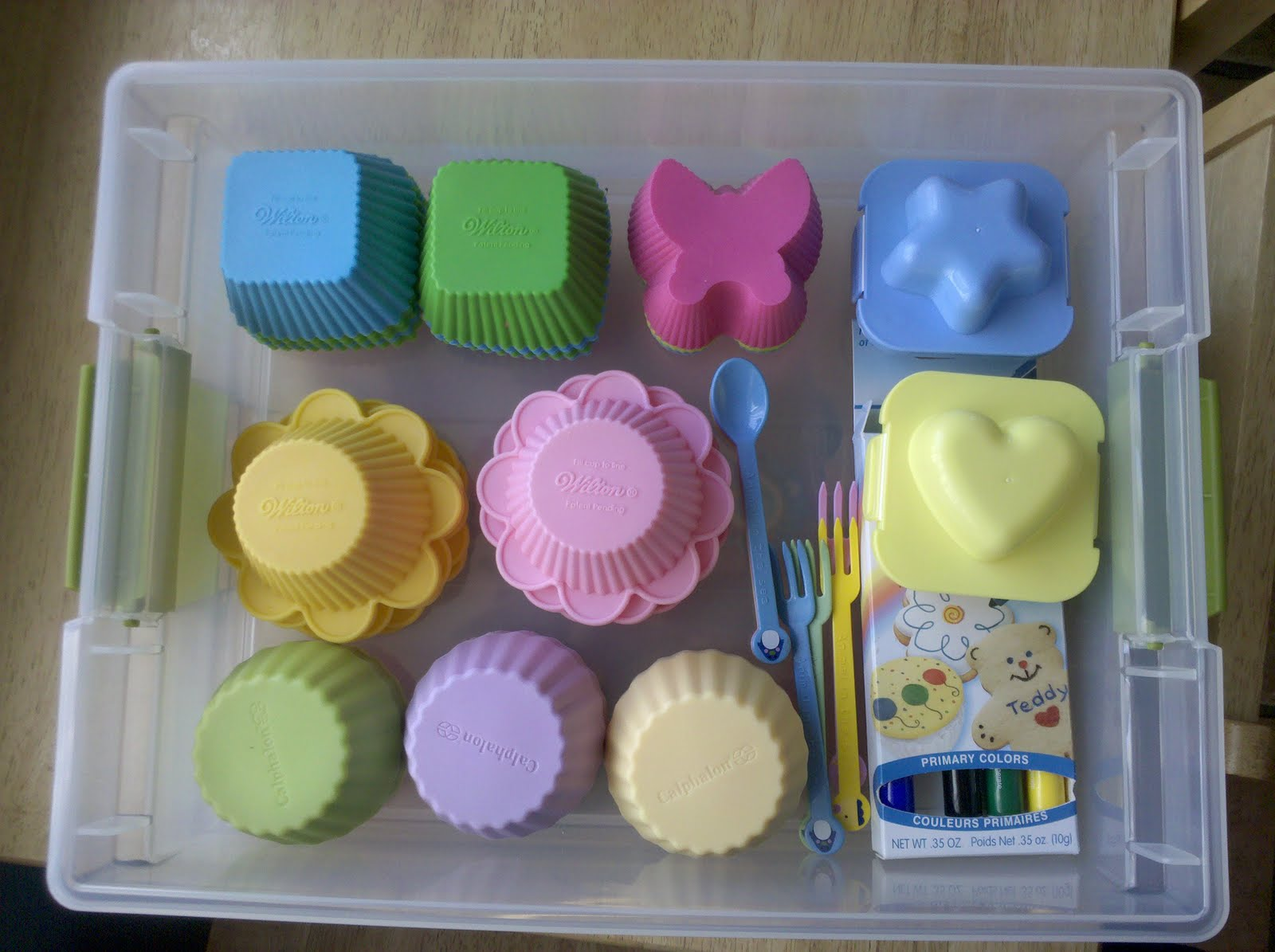 Be Brave Keep Going Muffin Tin Meal Supplies Storage