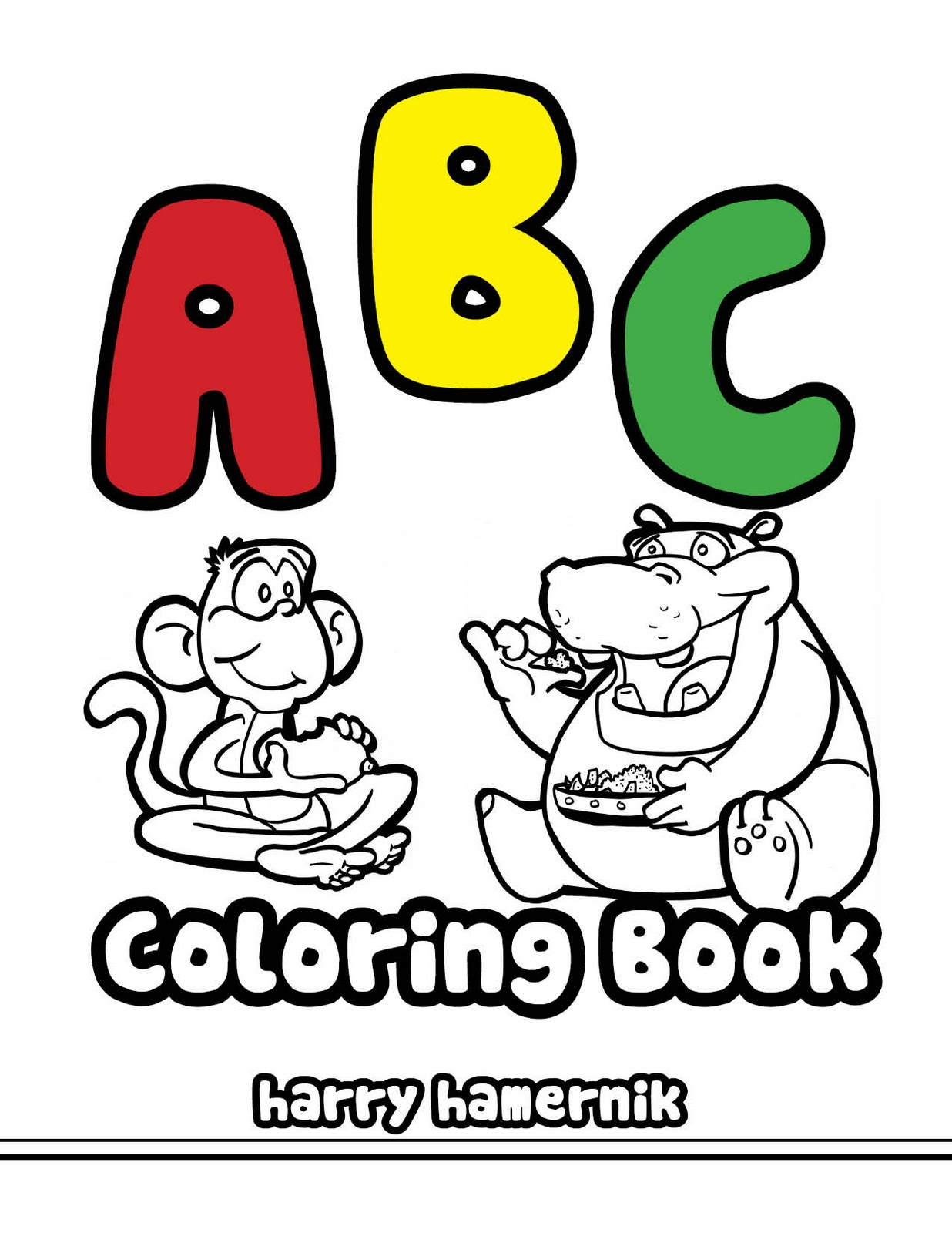 My Alphabet Book Printable Cover : My number book coloring pages