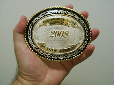 My Guinness World Record Trophy Buckle