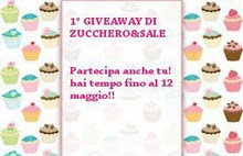 1Giveaway di Zucchero&amp;Sale