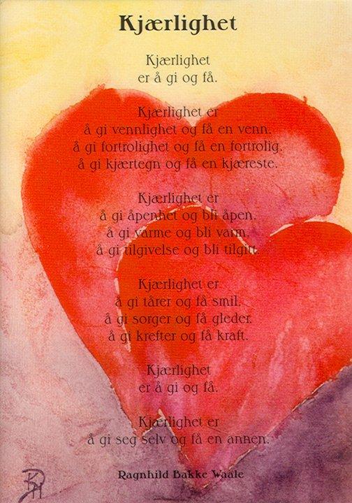 kort kjærlighetsdikt til kjæresten annmariolsen