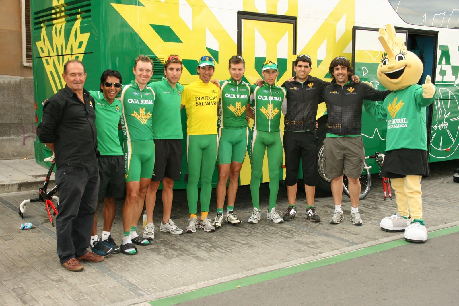Equipo ciclista caja rural for Caja rural de salamanca oficinas