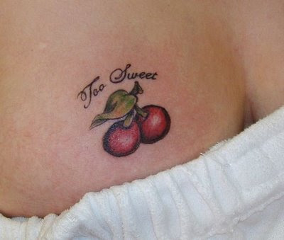 Cherry Tattoos - Sweet and Sexy Tattoo For Women