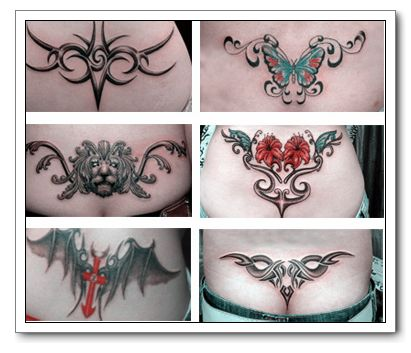 Lower Back Tattoo Design Ideas