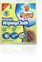 Ditching the Sponge - Mr. Clean Wiping Cloth