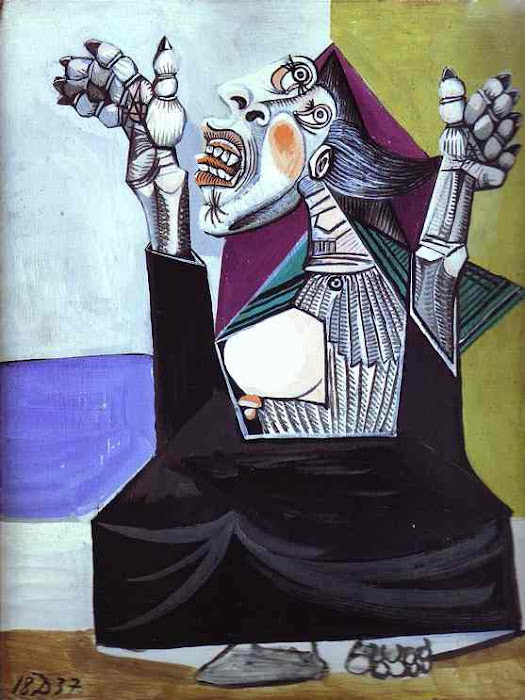 Suplicante, obra de Picasso