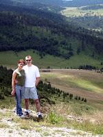 Biljana i ja na Zlatiboru prošle godine