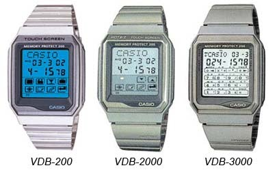 9c2c3733c78 The life with Gadget etc  CASIO Touch Screen シリーズ (HOTBIZ) 勢揃い