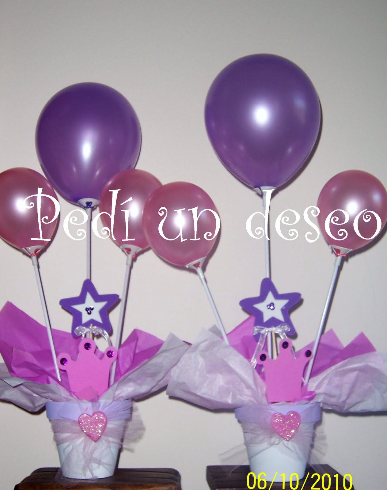 Pin estilo globo centros mesa con globos eventos krys para - Centros de mesa con globos ...