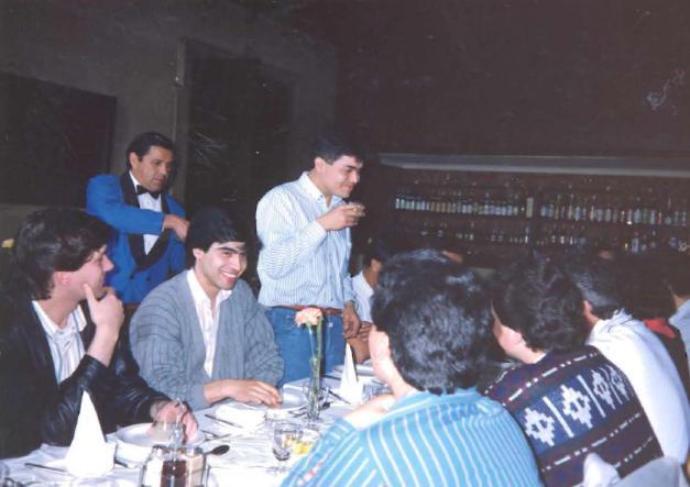 Equipo Humano Radio Manquehue 1990