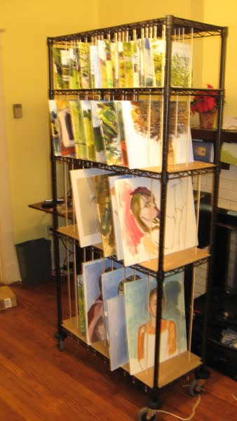 Storing Canvas Paintings