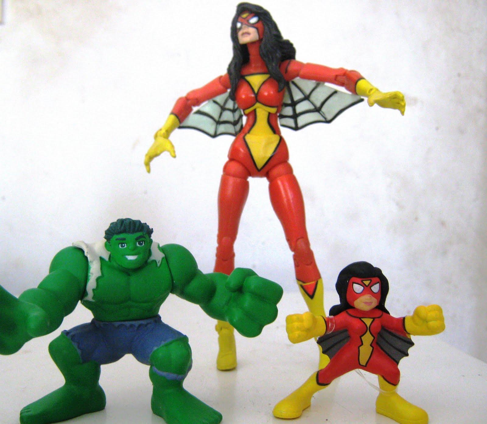 Aks soper amrika la entrada de la baticueva marvel super hero squad