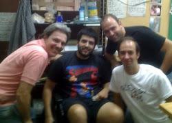 Kripto-Club,Universo retro, La baticueva y DDG, Un encuentro interblogs realizado en Rosario.