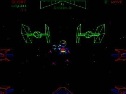 I remember the vector-based arcade