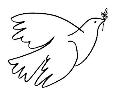 pomba paz Dia da Paz para crianças