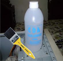 Usamos para limpar a placa motherboard