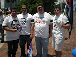 Julio Robaina, J.C. Len, Nelson Rubio y Ernesto Velzquez