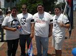 Julio Robaina, J.C. León, Nelson Rubio y Ernesto Velázquez