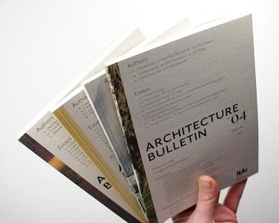 Hansje portfolio architecture bulletin magazines for Architecture portfolio dimensions