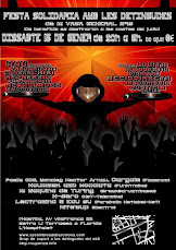 Fiesta solidaria detenidas huelga 29S