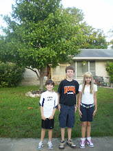 First Day of School 2008 ~ 8th, 6th, & 3rd Grade